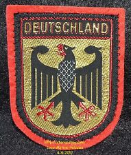 LMH PATCH Woven Badge DEUTSCHLAND Bundesadler GERMANY Federal Eagle COAT ARMS gl