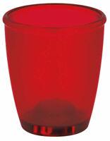 Spirella Toronto Rot Zahnbecher Becher Zahnbürstenhalter Markenprodukt