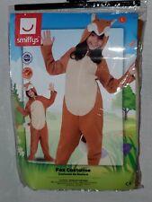 Fox Animal Comedy Children Unisex Smiffys Costume large 10-12 one piece pajamas