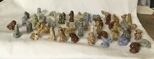 Mixed Lot 100+ Wade England Red Rose Tea Figurines From Several Series