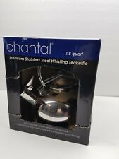 Chantal Premium Stainless Steel Whistling Teakettle 1.8 Qt