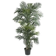 GOLDEN CANE PALM SILK TREE 6.5' NEARLY NATURAL 5289
