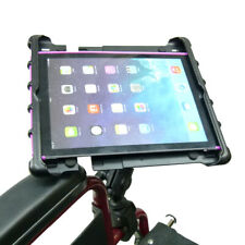 Wheelchair Rail & Tube Tablet Mount With Swivel Arm for Apple iPad Pro 9.7