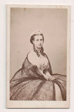 Vintage CDV Princess Alexandra of Denmark Queen of Great Britain Hermann Ohm Pho
