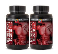 Build Muscle Fast - Testosterone-boosting Formula 742 (2 Bottles) New