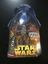 "STAR WARS: REVENGE OF THE SITH - CHEWBACCA ""WOOKIE RAGE"" Action Figure HASBRO"