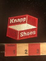 KNAPP SHOES Advertising Patch - Shoe Manufacturing Company S99D