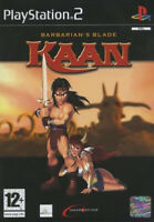 Kaan Barbarian's Blade  Jeu Sony Playstation 2 PS2 Occasion avec notice PAL FR