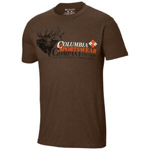 "New Mens Columbia PHG ""Branded 1"" Graphic T-Shirt SS Top Tee Polo Big & Tall"