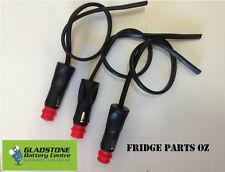 Accessory plug leads 3x 800mm long