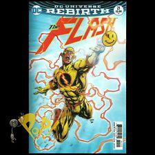 FLASH #21 The BUTTON Lenticular 3D VARIANT Cover BATMAN Crossover DC Comics NM