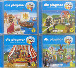 4 CD Playmobil Die Playmos  Folge 5, 6, 9 und 12 als Hörspielpaket