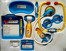 PLAY RIGHT KIDS 10 PC DOCTOR,NURSE MEDICAL SET,WORKING ACCESSORIES,LIGHTS,SOUNDS