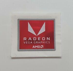 PC Sticker Genuine AMD Radeon Vega Graphics Gaming PC Case Laptop Sticker Decal