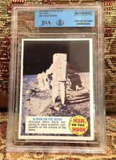 1970 Topps MAN ON THE MOON #67C  Buzz Aldrin Apollo 11  Signed Autograph JSA/BGS