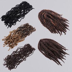 """faux Crochet Braid 18"""" Havana Mambo Twist Tone Braiding Hair Extension"""