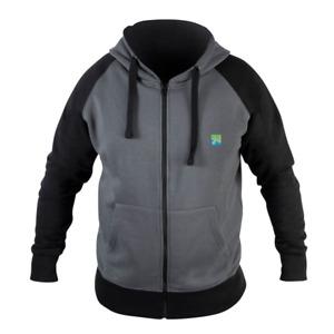 Preston Innovations Grey Zip Hoodie