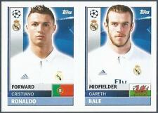 TOPPS CHAMPIONS LEAGUE-2016-17- #REA16-17-REAL MADRID-G BALE / CRISTIANO RONALDO