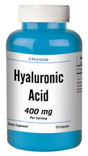 Hyaluronic acid 400 mg 120 capsules - Youthful Skin & Joint Health HIGH POTENCY