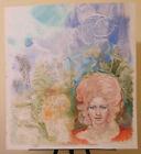 Bild Vintage Studio Praparatorio Für Porträt Weiblich Pop Art Malerei P33.2