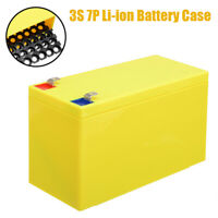 DIY 12V 3S 7 Parallel Li-ion Battery Case Holder Box for 18650 Battery Pack