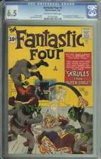 Fantastic Four #2 CGC 6.5 1st App Skrulls