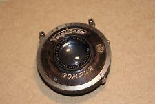 Vintage Voigtlander Anastigmat Skopar 75mm F3.5 & Compur Shutter Lens