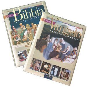 La Sacra Bibbia , Il Santo Vangelo - per ragazzi Larus Illustrata