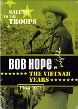 Bob Hope - Vietnam Years 1964-1972 - A Salute to the Troops 3 Discs New