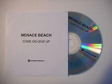 MENACE BEACH : COME ON GIVE UP [ CD SINGLE PORT GRATUIT ]