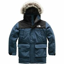 The North Face Toddler Boys McMurdo Parka Down Jacket Coat Shady Blue M 10-12