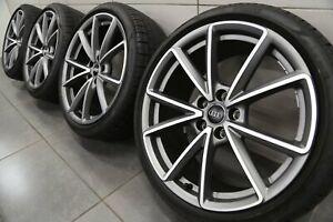 19 Pulgadas ruedas verano Original Audi A4 S4 B9 5-V-Speichen Sport 8W0601025EA