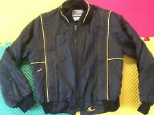 Vintage Ski-Doo Bombardier Black Nylon Jacket Men's Size S Made in USA Free Ship