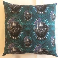 NEW MARVEL AVENGERS BLACK PANTHER COMPLETE 15 X 15  COTTON THROW PILLOW