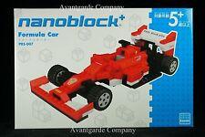 NANOBLOCK PLUS PBS_007 FORMULA CAR BUILDING BLOCK KAWADA