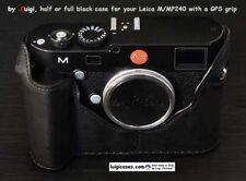 LUIGI HALF CASE for LEICA MP240/M240/MMII FITTED WITH a GPS GRIP,UPS INCLUDED!