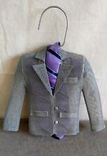 Metal Mesh Sculpture Classic Blazer Jacket Model Maquette Tailor Decoration