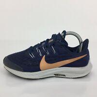 Nike Air Zoom Pegasus 36 Blue Textile Trainer AR4149-401 Women UK 4 Eur 36.5