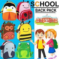 Kids Boys Girls School bags Cartoon Animal Children Backpack Rucksack Lunch Bags