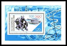 EBS East Germany DDR 1988 Winter Olympics Calgary Michel Block 90 MNH**