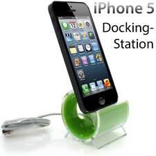 Ladestation für iPhone 5s Docking Station Design Ladegerät - Grün