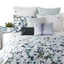 HUGO BOSS Windsor European Sham LUXE WHITE PILLOWCASES BED NEW $214