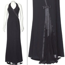 *FINAL MARKDOWN!* Escada Black Halter New Years Eve Evening Gown Dress sz 36
