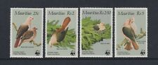 Mauritius - 1985, Rosa Taube Vögel Set - MNH - Sg 708/11