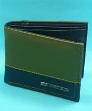 Billabong Faux Leather Trifold Wallets for Men