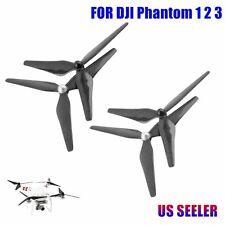 4PCs Carbon Fiber 9450 Propeller CW/CCW 3-Blade Prop 4 DJI Phantom 1 2 3 Vision