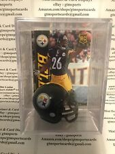 Leveon Bell Pittsburgh Steelers Mini Helmet Card Display Collectible Auto RC