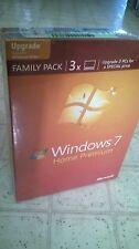 Microsoft Windows 7 Home Premium Upgrade Family Pack