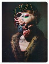 """Christian Rex Van Minnen """"Red & Green"""" art journal page: Frame it!"""