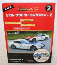 DelPrado 1/43 Scale Diecast Shelby Toyota 2000GT Racing #23 -Model & Mag Box Set